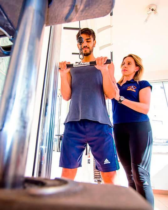 Atitude reabilitação, atividade física e treinamento