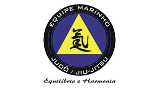 logo Equipe Marinho - judô e jiu-jitsu