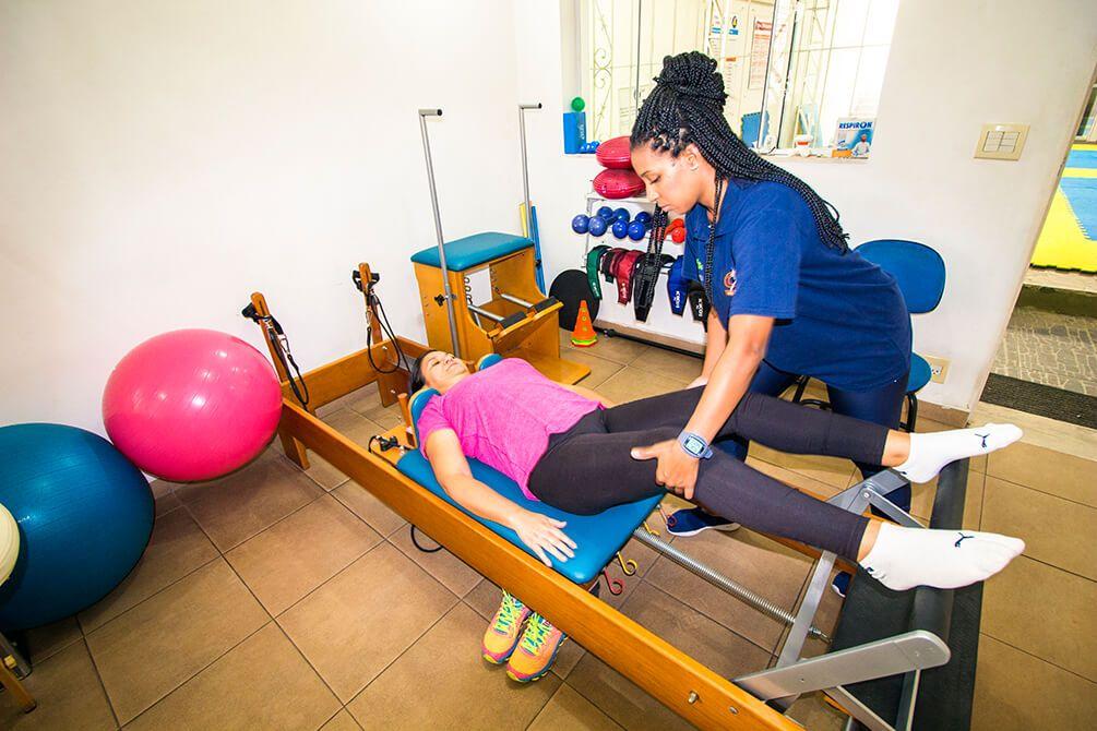 Nosso trabalho é diferente da fisioterapia